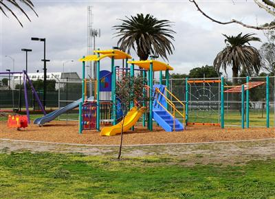 Contemporary Style Playground at Mayors Park