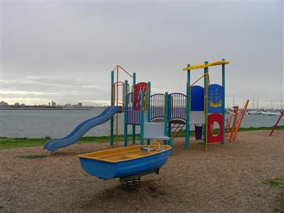Charles Bates Reserve Playground - Boat Theme