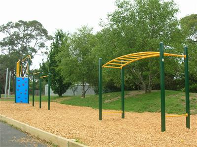 Fitness Track at school in Boronia West