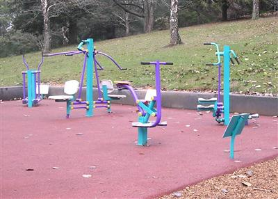Emerald Lake Park - Outdoor Gym Equipment