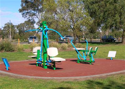Aberfeldie Park - Outdoor Gym Equipment