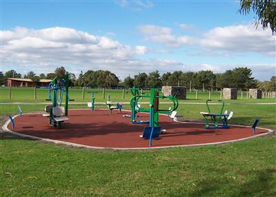 Roy Dore Reserve Bayside - Outdoor Gym Equipment