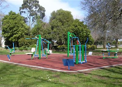Rotary Park Warragul - Outdoor Gym Equipment