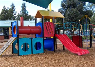 Carrum School - Train Themed Playground