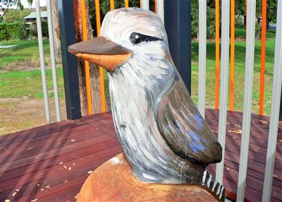 Kookaburra Sculpture