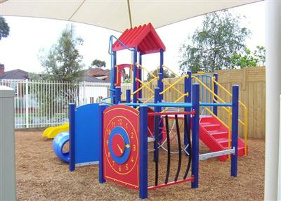 Separate Pre-School Play Structure
