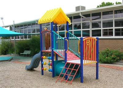 Staged Playground for Pre-School