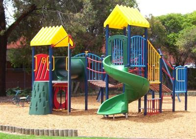 Colourful Playground Oasis - Barnett Reserve