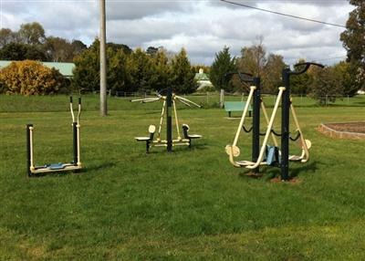 Carlsruhe Common - Outdoor Gym Equipment