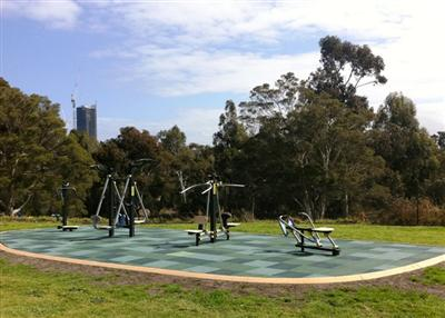 Como Park South Yarra - Outdoor Gym Equipment