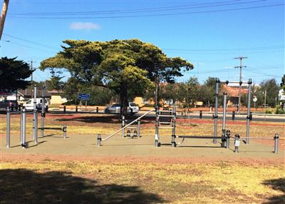 ParkFit Equipment at Kardinia Park