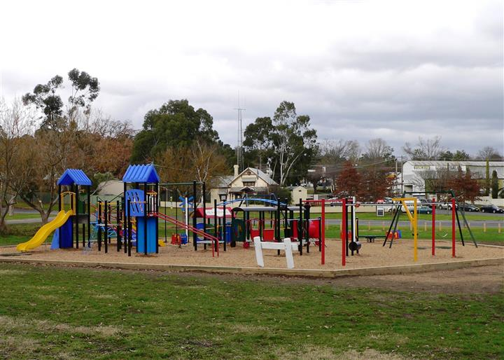 Themed Playground at Healesville Station Precinct