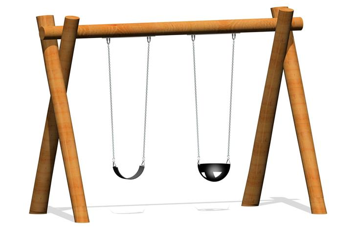Timber Swing A Frame